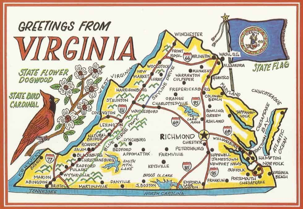 31 innovative Map Of Virginia With Jamestown Located – bnhspine.com